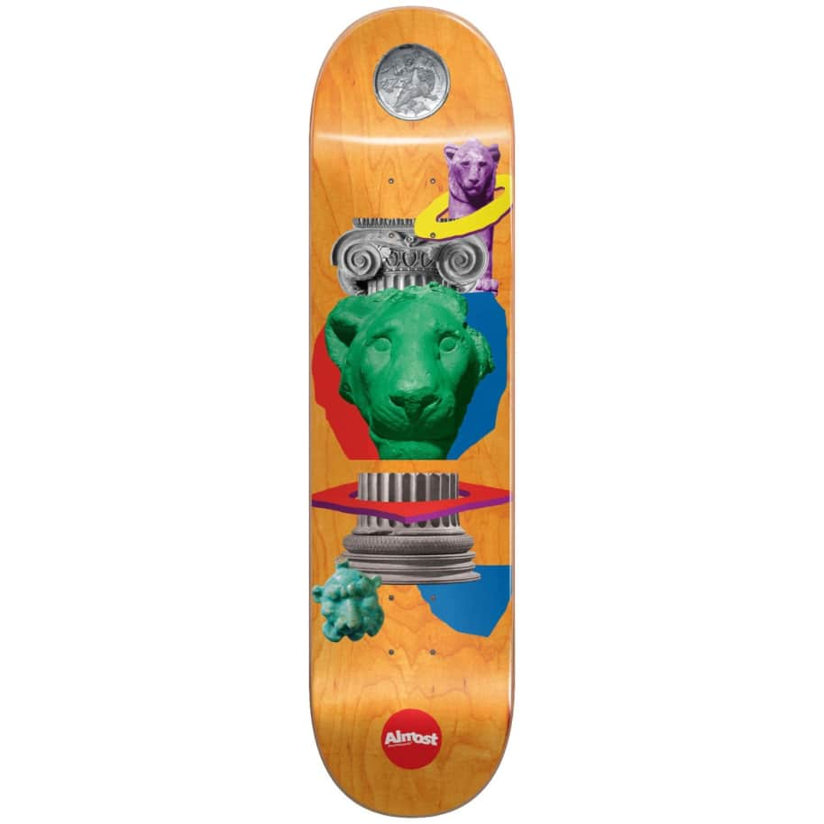 """Almost Skateboards - 8.125"""" Relics John Dilo Pro Deck 