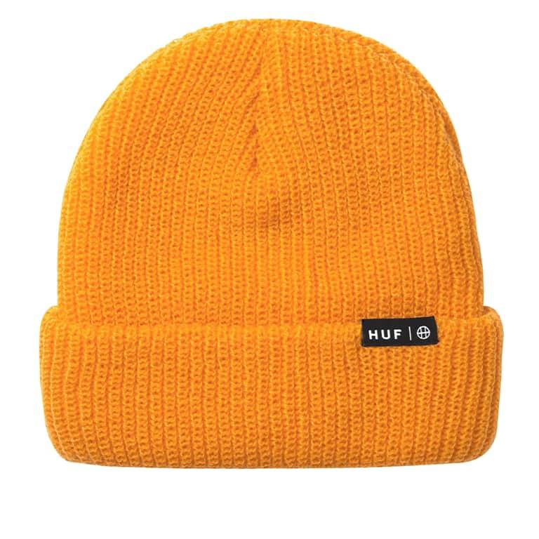 HUF Essential Usual Beanie - Electric Orange | Beanie by HUF 1