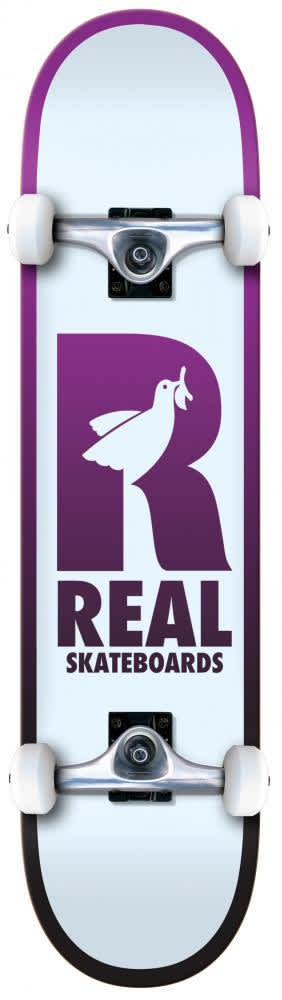 """Real Skateboards Be Free Complete 8.25"""" 