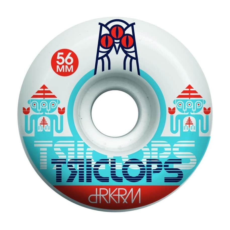 Darkroom Skateboards Triclops Spinner Wheels 55mm 99a | Wheels by Darkroom Skateboards 1