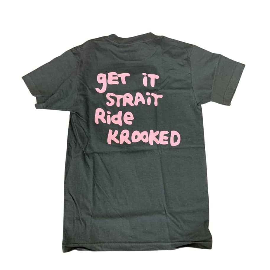 STRAIGHT EYES S/S TEE | T-Shirt by Krooked Skateboards 2