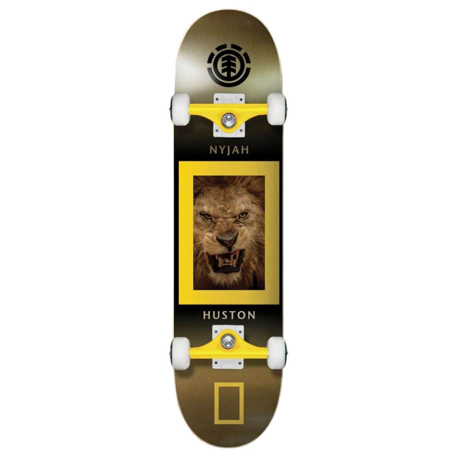 Element x National Geographic King Jungle Nyah Huston Complete Skateboard   Complete Skateboard by Element 1