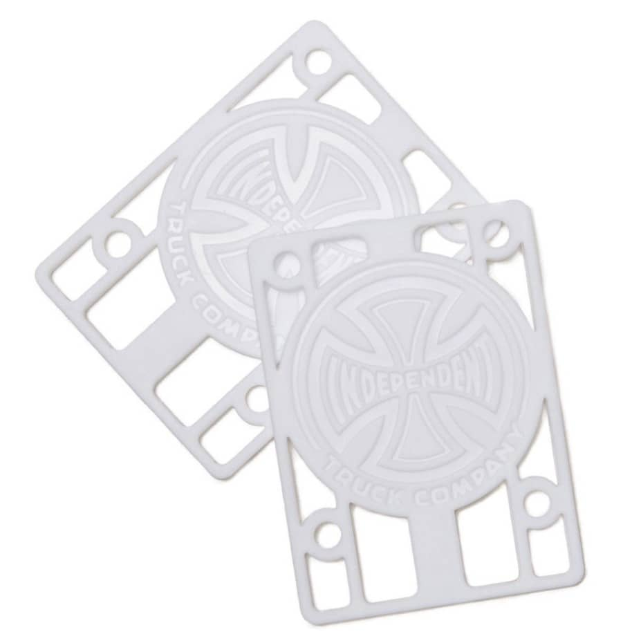 "Independent Genuine Parts Risers 1/8"" (White) Set(2) 