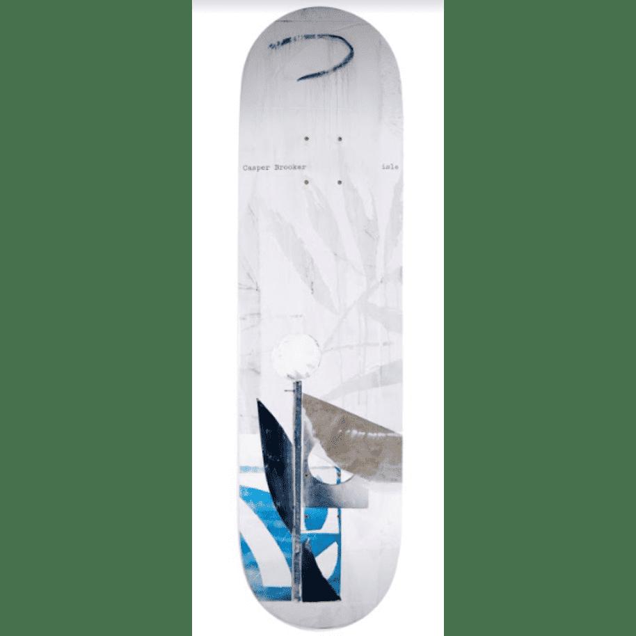 "Isle Skateboards - 8.5"" Casper Brooker Sculpture Series Skateboard Deck   Deck by Isle Skateboards 1"