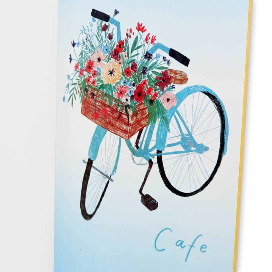 Skateboard Cafe Flower Basket Skateboard Deck Blue - 8"