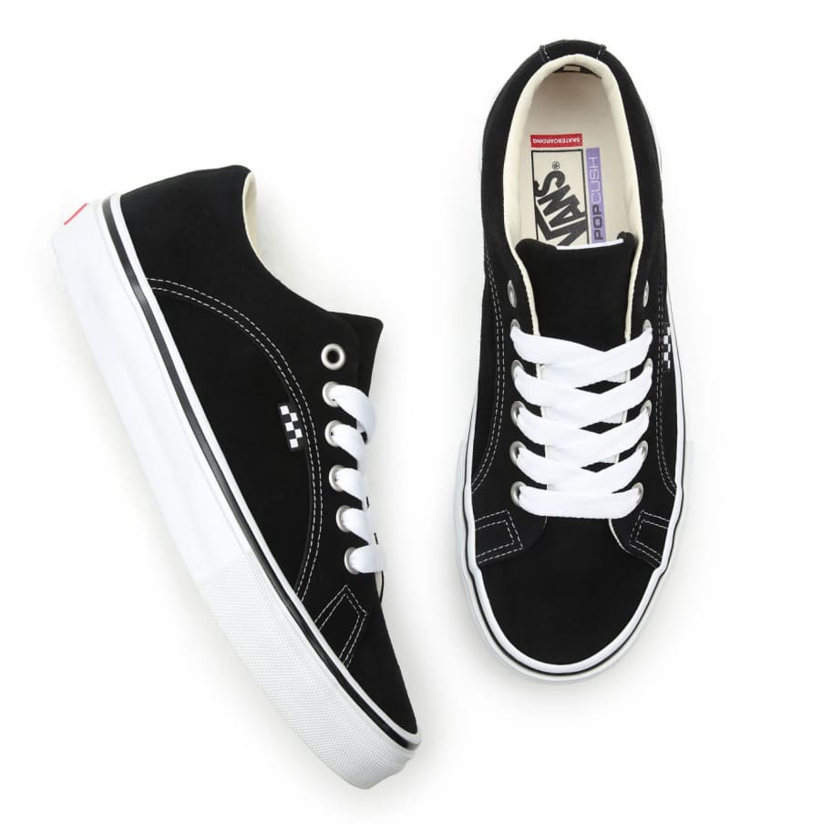 Vans Skate Lampin Shoes - Black / White | Shoes by Vans 3