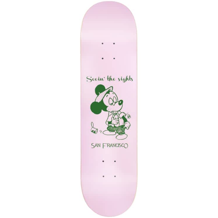 """Snack Skateboards Seein the sights deck - 8.0""""   Deck by Snack 1"""
