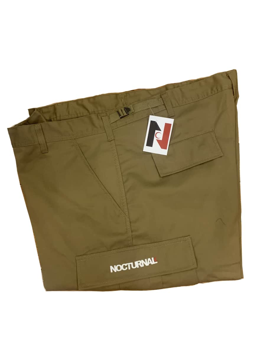 Nocturnal New Philly Cargo Pant (Coyote Brown) | Trousers by nocturnal 1