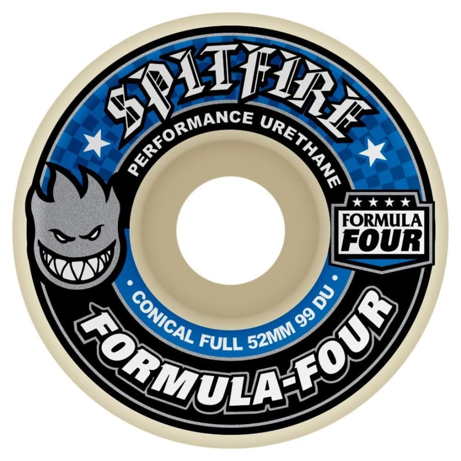 Spitfire Formula Four Conical Full Wheels 99d | Wheels by Spitfire Wheels 1