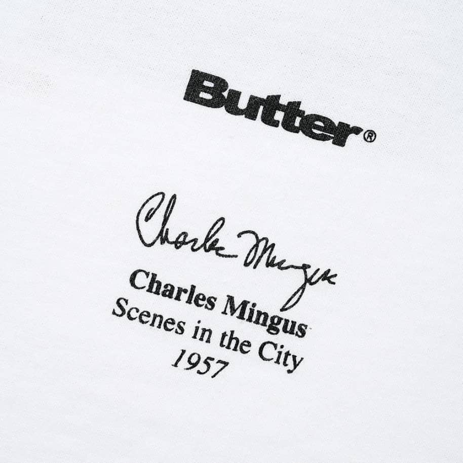 Butter Goods Scenes In The City T-Shirt - White | T-Shirt by Butter Goods 5