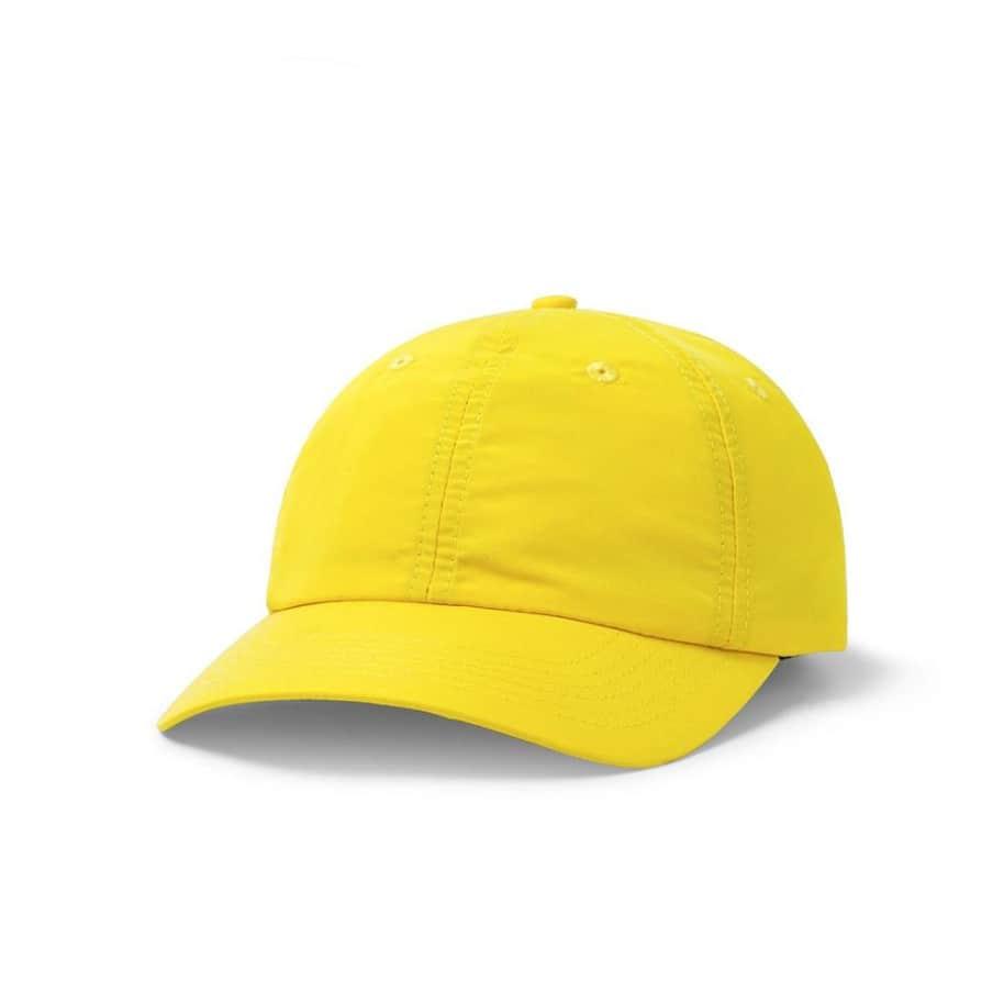 Butter Goods Climate 6 Panel Cap - Yellow | Baseball Cap by Butter Goods 1