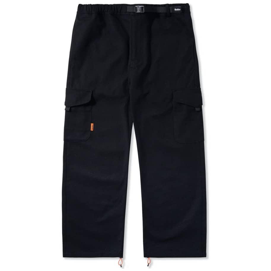 Butter Goods Equipment Cargo Pants - Black | Trousers by Butter Goods 1