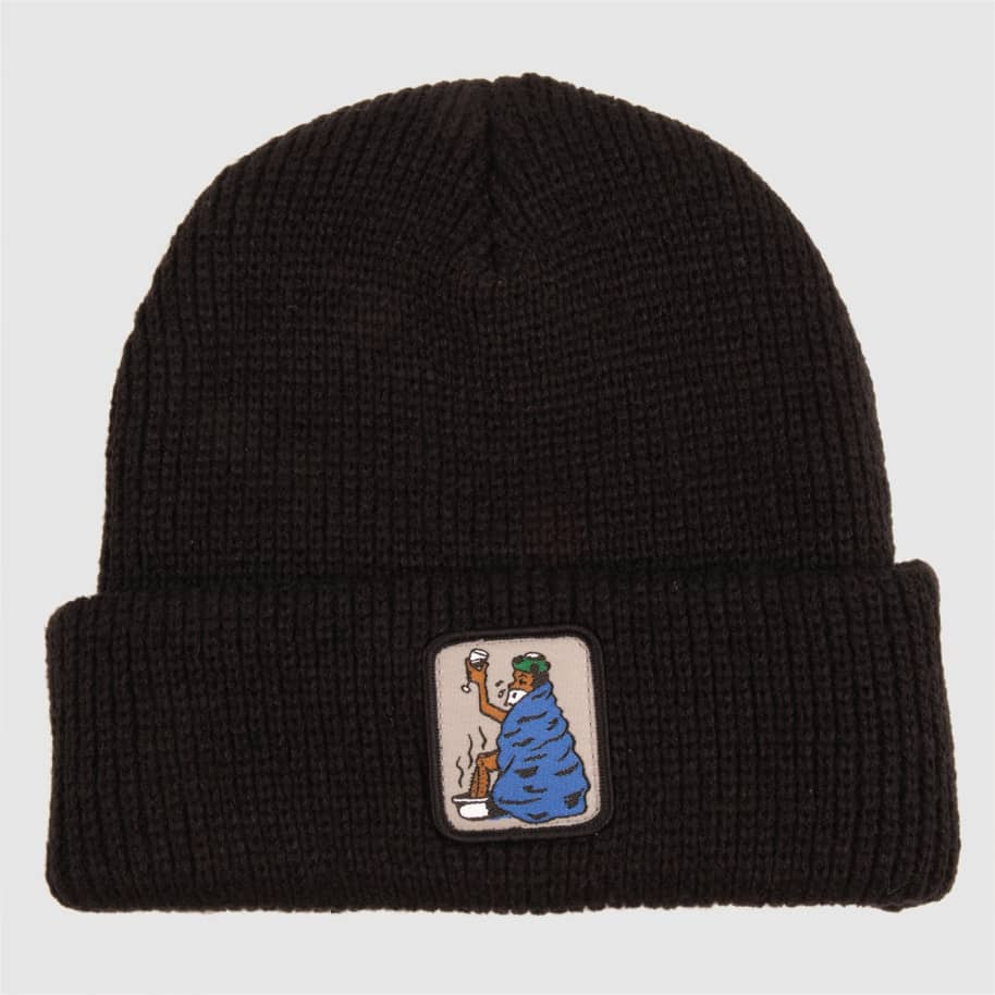 Pass~Port Cold Out Beanie - Black | Beanie by Pass~Port Skateboards 1