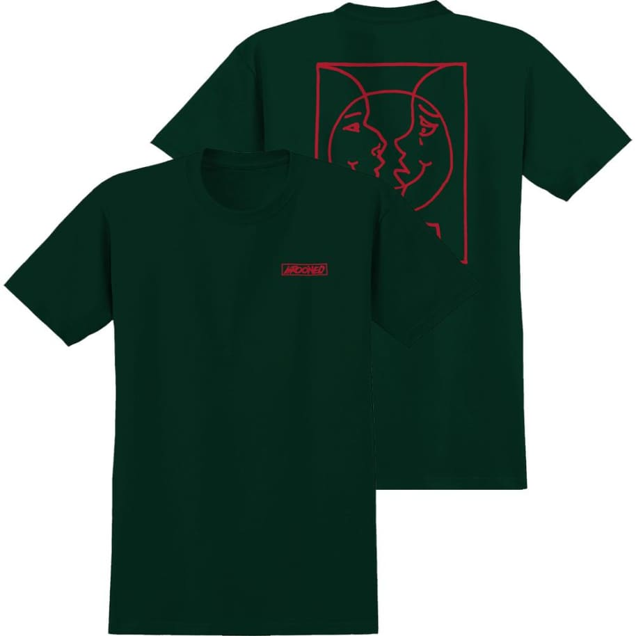 Krooked Moon Smile T-Shirt | T-Shirt by Krooked Skateboards 1