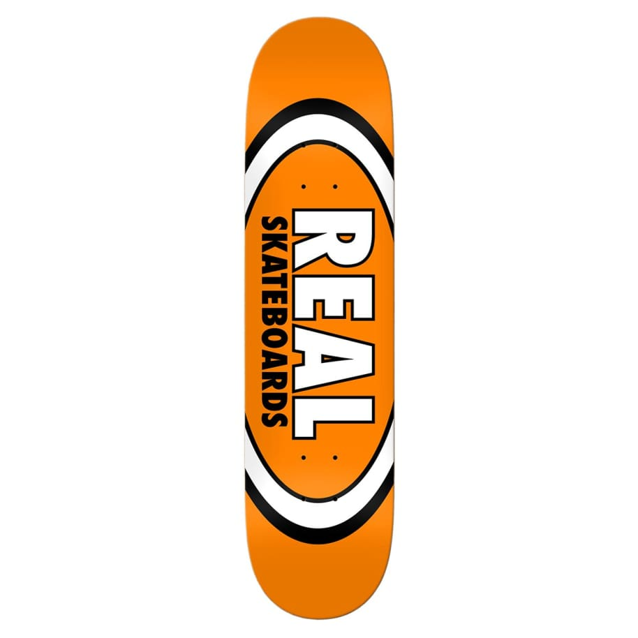 """Real Classic Oval Deck 7.5"""" 