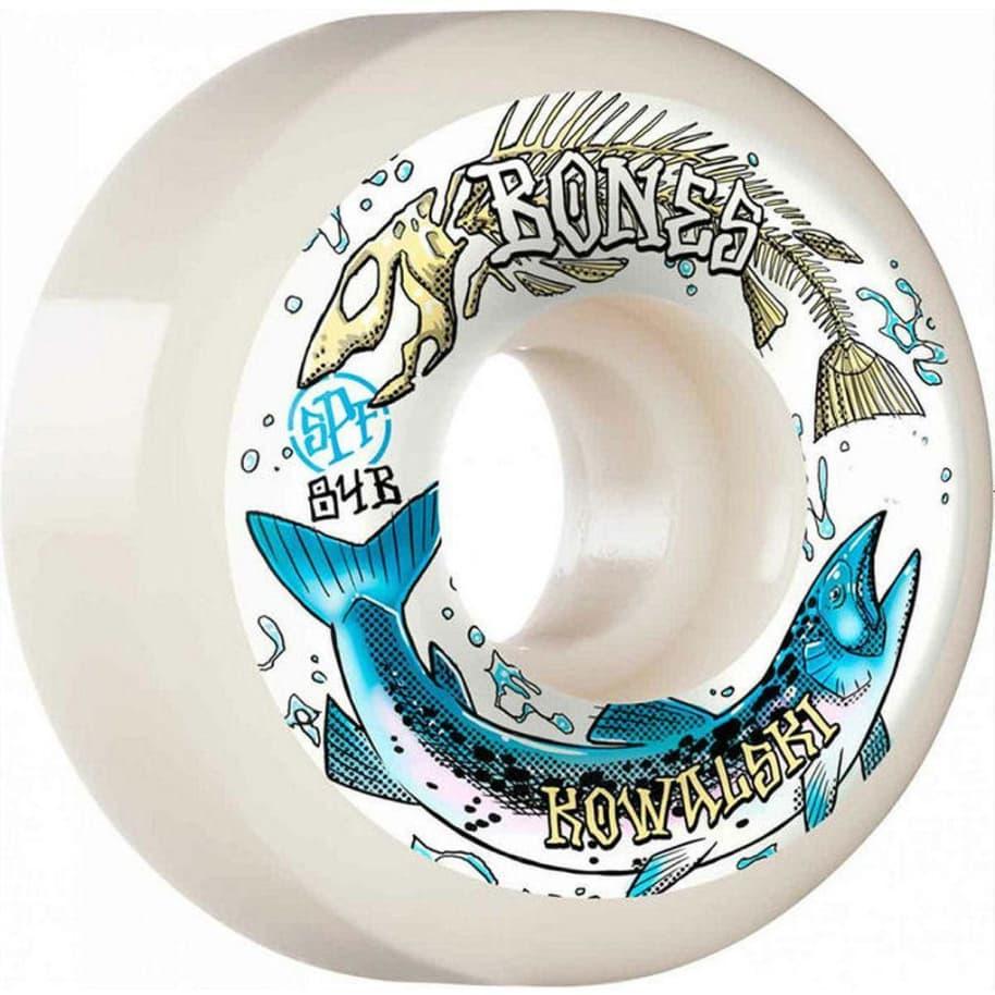 Bones Wheels SPF Kowalski Salmon Spawn 56mm P5 | Wheels by BONES 1