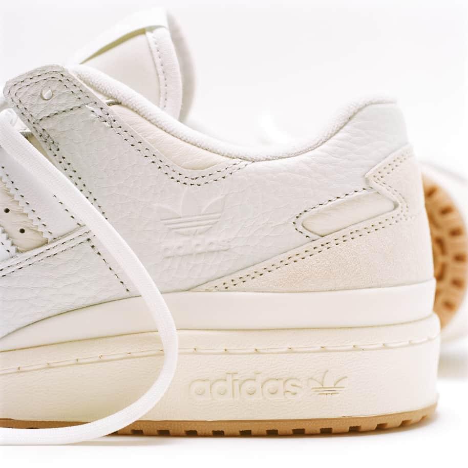 adidas Skateboarding Forum 84 Low ADV Shoes - Chalk White / Ftwr White / Cloud White | Shoes by adidas Skateboarding 11