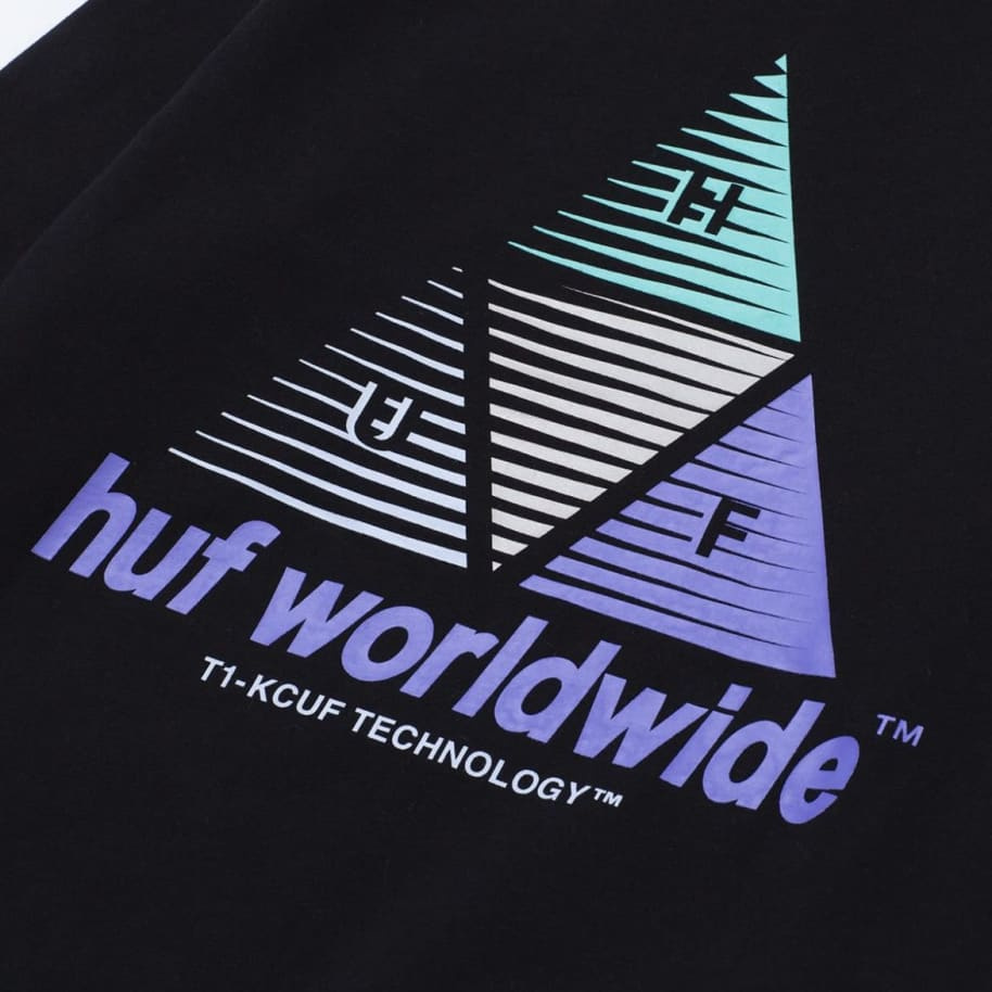 Huf Prism Triple Triangle Pullover Hoodie | Hoodie by HUF 3