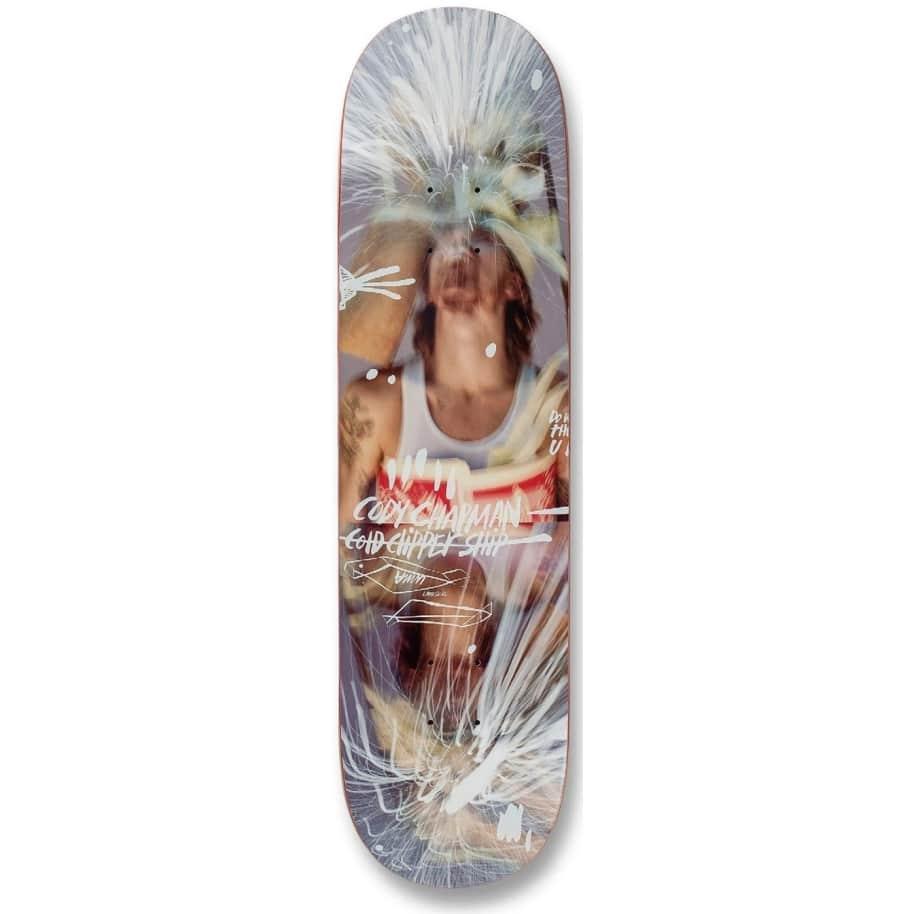 "Uma Skateboards Cody Chapman Taped Up Deck 8.38""   Deck by UMA Landsleds 1"