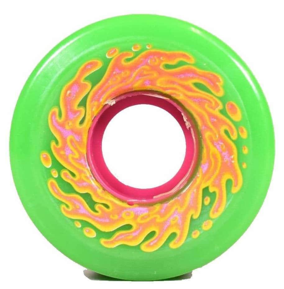 OG Slime Green 78A   54.5mm   Wheels by Santa Cruz Skateboards 1