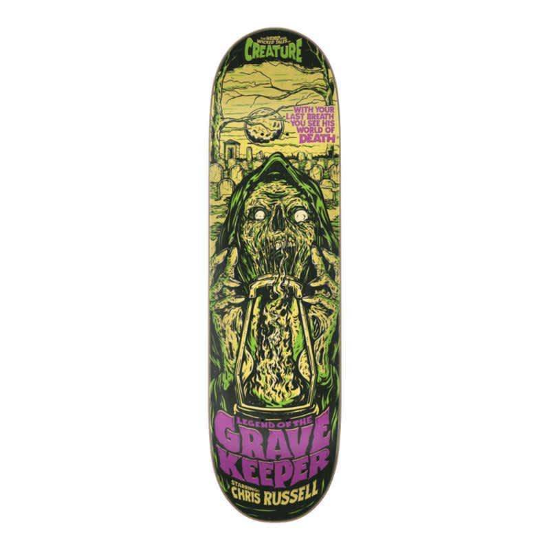Creature Russell Wicked Tales Deck (8.5) | Deck by Creature Skateboards 1