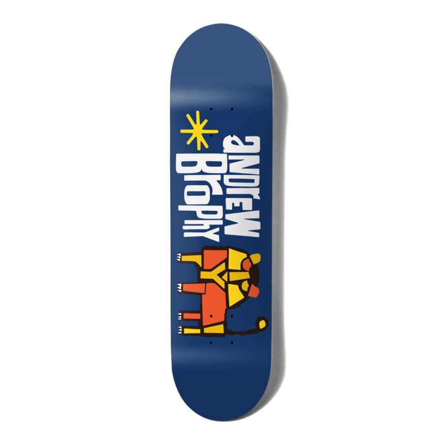 """Brophy Pictograph   8""""   Deck by Girl Skateboards 1"""