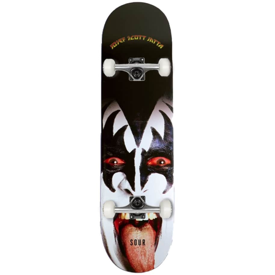 "Sour Solution - Josef - Piss - Complete Skateboard - 8"" | Complete Skateboard by Sour Skateboards 1"