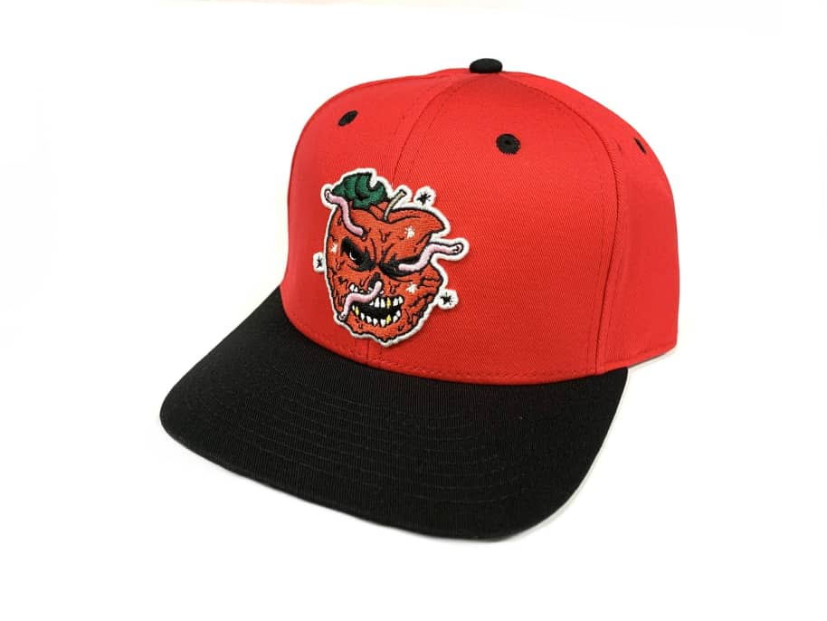 Inovation3 Bad Apple Friends and Family Hat Strapback Red/Black | Baseball Cap by Inovation3 1
