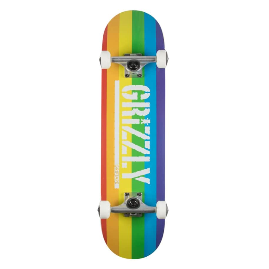 Equality Complete - 7.75   Complete Skateboard by Grizzly Griptape 1