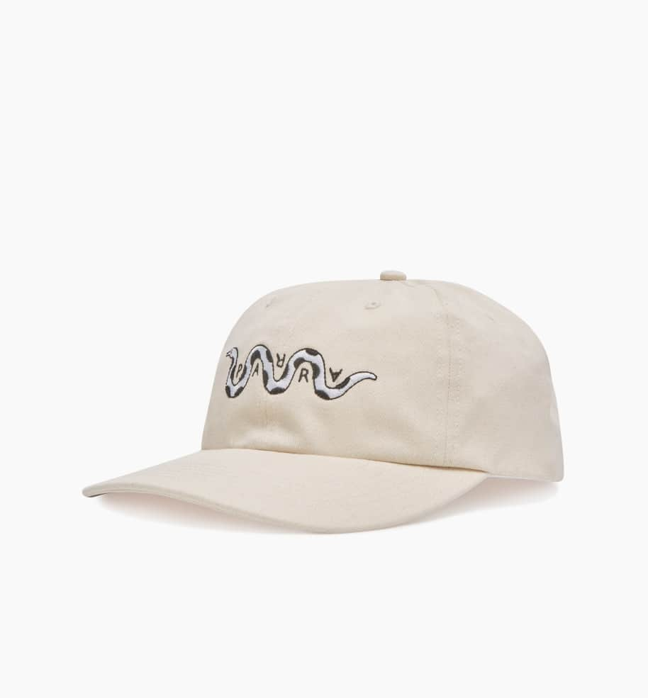 by Parra Snaked 6 Panel Hat - Off White | Panel Hat by by Parra 2