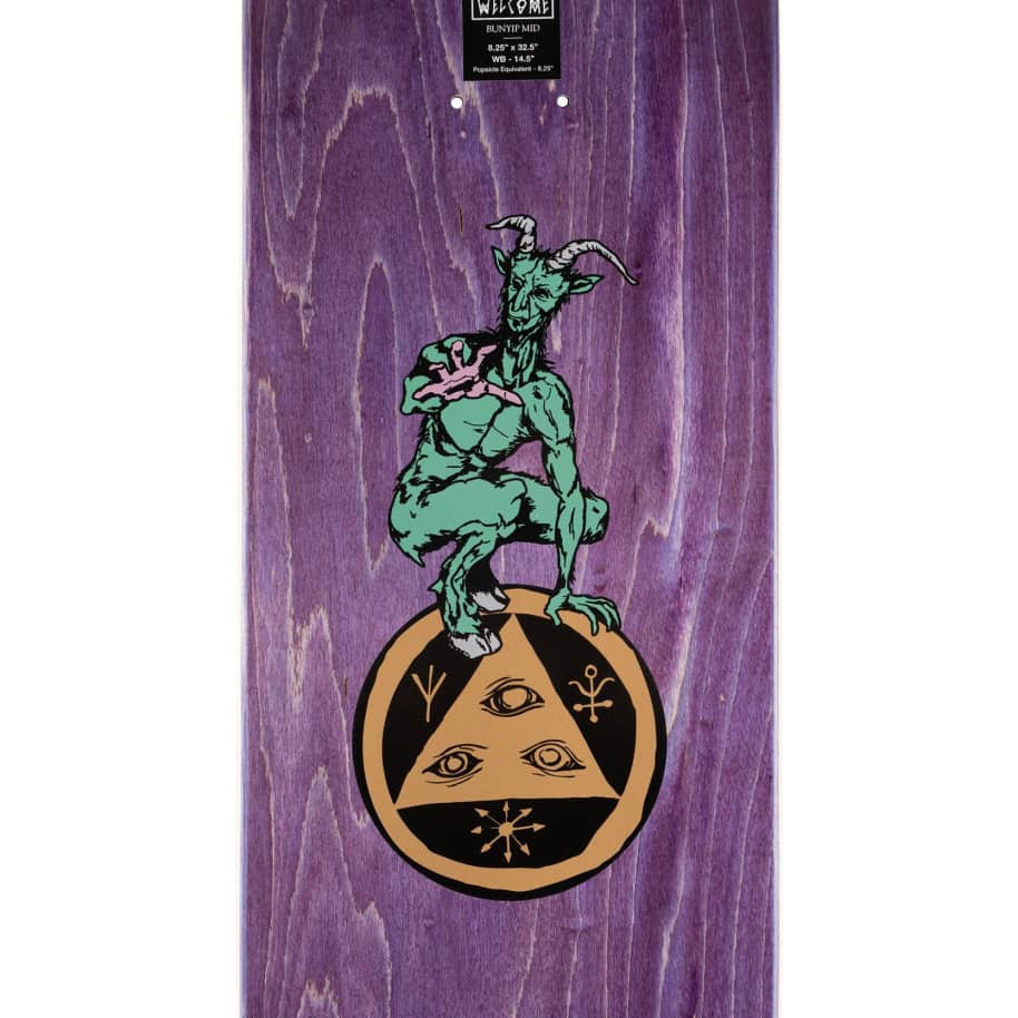 """Welcome Goodbye Horses on Bunyip Mid Deck - Jade 8.25"""" 