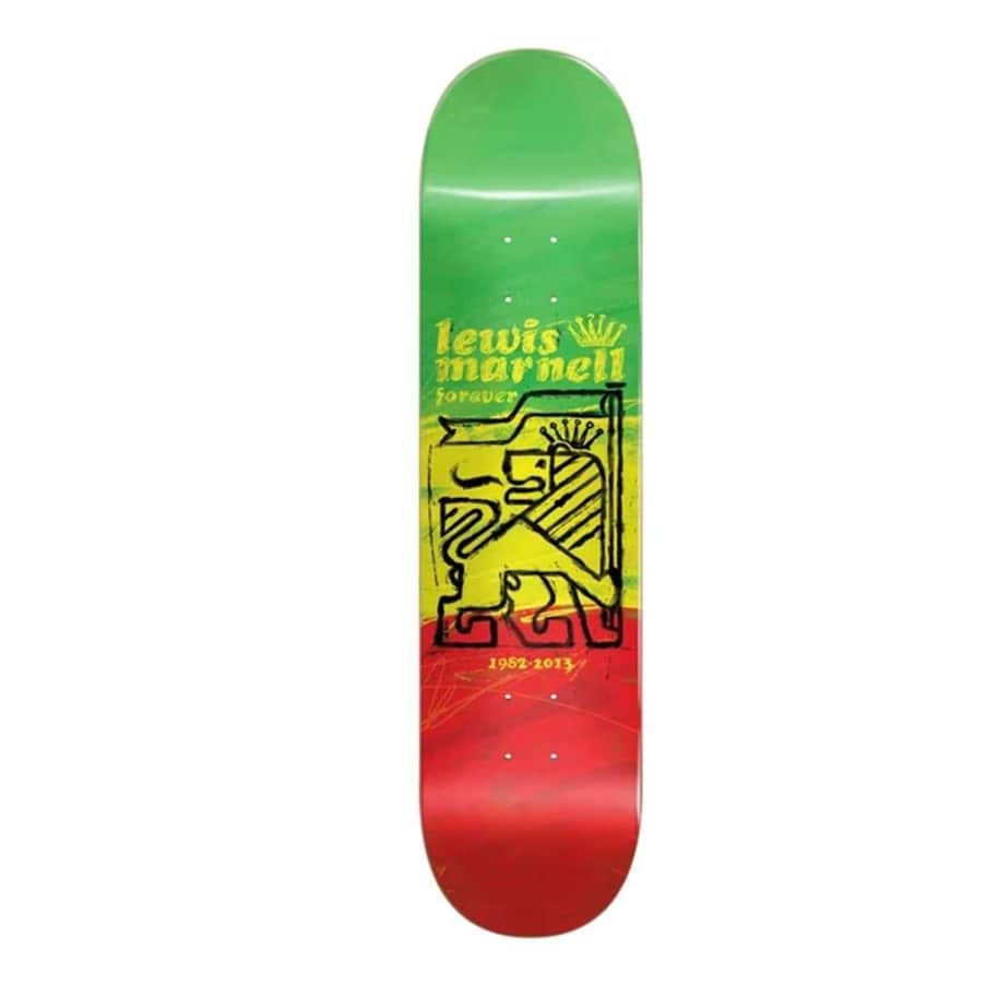 Almost Marnell Painted Lion R7 Deck (8) | Deck by Almost Skateboards 1