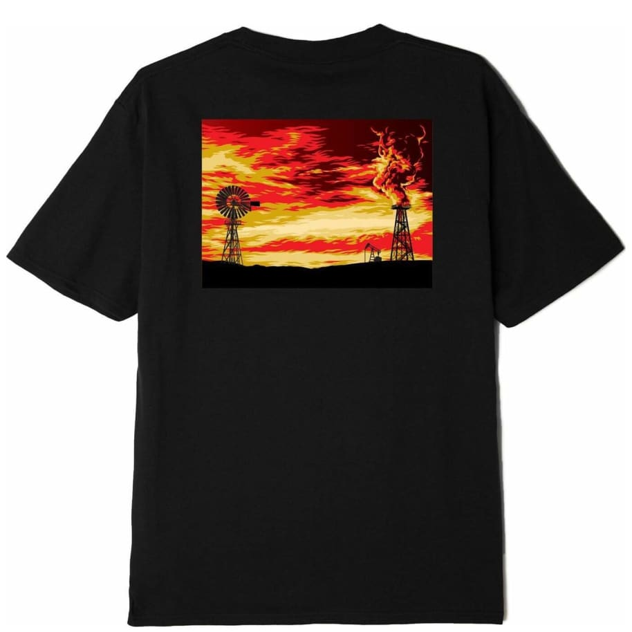 OBEY Windmill Sustainable T-Shirt - Black | T-Shirt by OBEY Clothing 1