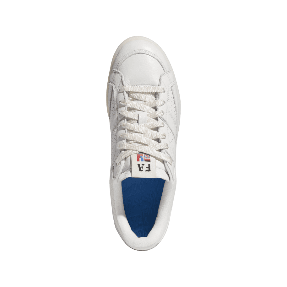 adidas Skateboarding FA Experiment 2 Shoes - Crystal White / Chalk White / Gold Metallic | Shoes by adidas Skateboarding 2