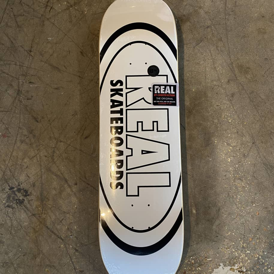 Real - Classic Oval Skateboard Deck - 8.38 | Deck by Real Skateboards 1