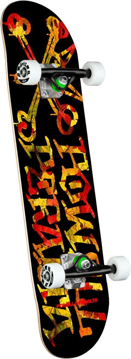 POWELL PERALTA Vato Rat Leaves Complete 7.5 | Complete Skateboard by Powell Peralta 1
