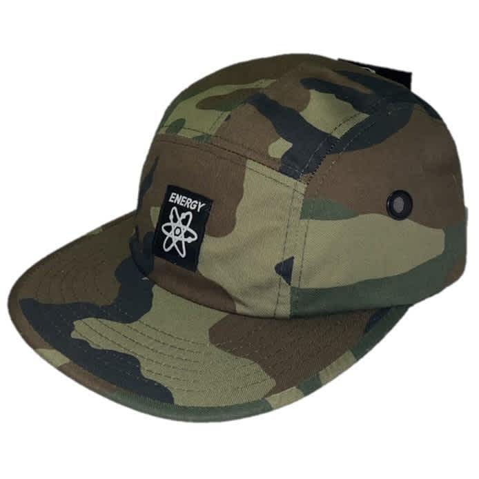 Energy Skate Shop OG Logo 5-Panel Hat (Camo) | Baseball Cap by Energy Skate Shop 1