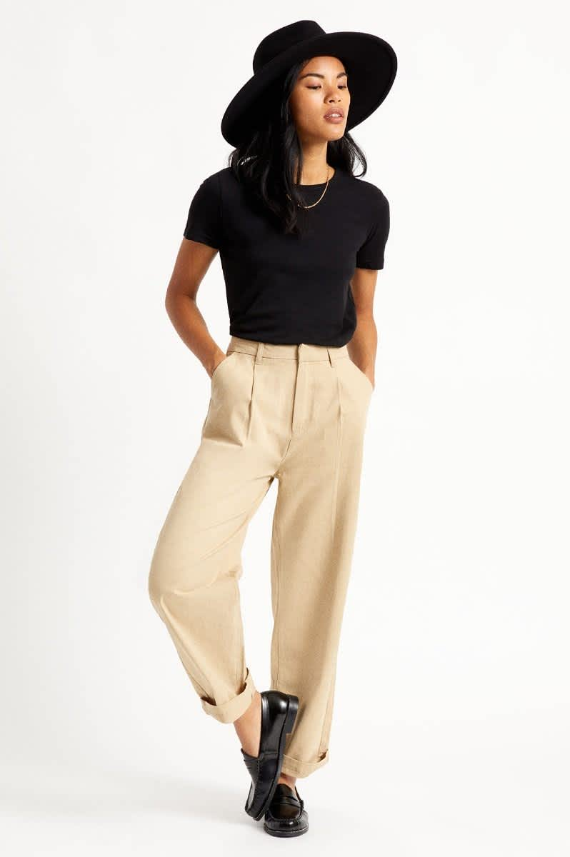 Brixton Womens Victory Trouser Pant | Trousers by Brixton 5