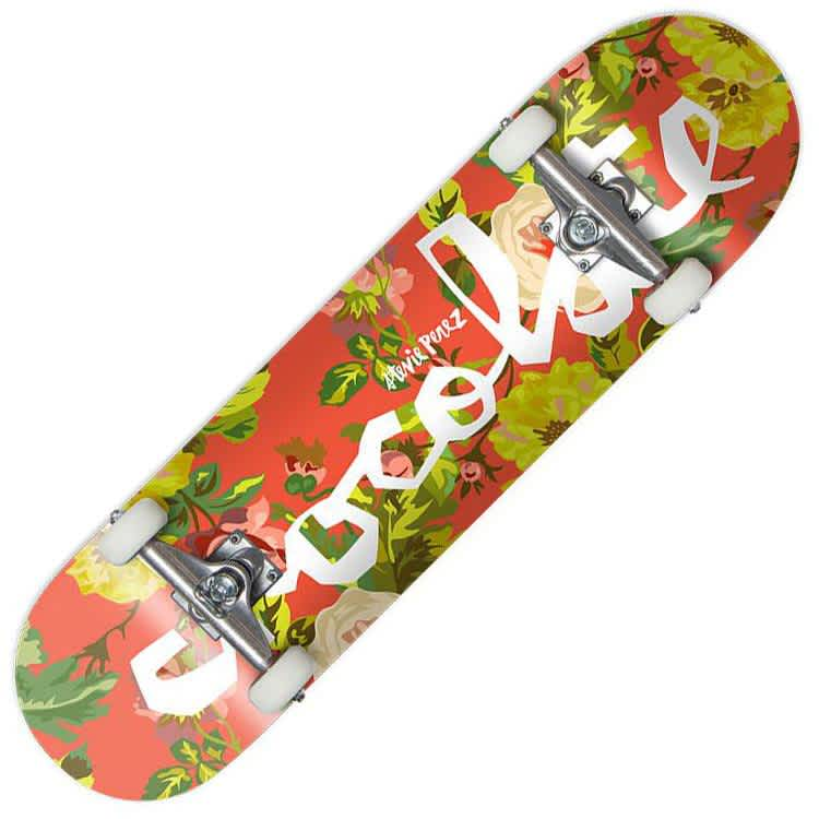 Chocolate Perez Floral Chunk Complete (8.125)"