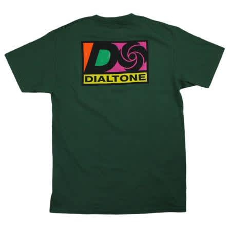 Dial Tone T-Shirt Atlantic Forest Green   T-Shirt by Dial Tone Wheel Co. 1
