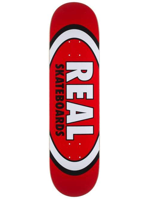REAL Classic Oval Deck 8.12   Deck by Real Skateboards 1