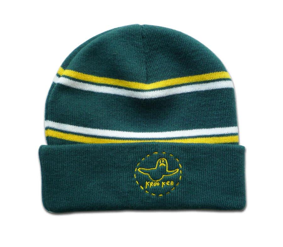 Krooked Trinity Cuff Beanie | Beanie by Krooked Skateboards 1