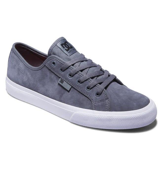 DC Manual S Skate Shoes - Grey | Shoes by DC Shoes 2