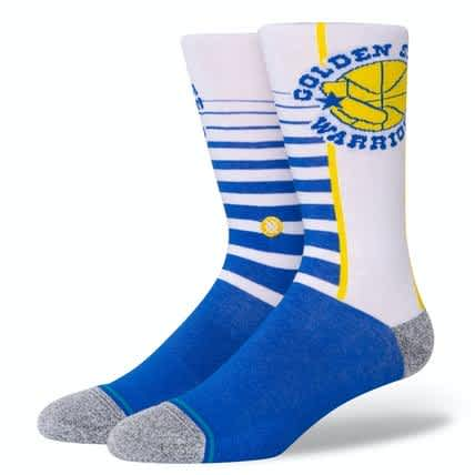 STANCE NBA GOLDEN STATE GRADIENT - BLUE | Socks by Stance Socks 1
