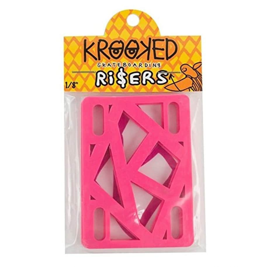 """Krooked Riser Pads 1/8"""" (Pink) 