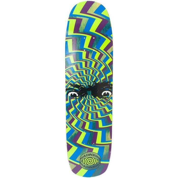 Green Spun Out | Deck by Madness Skateboards 1