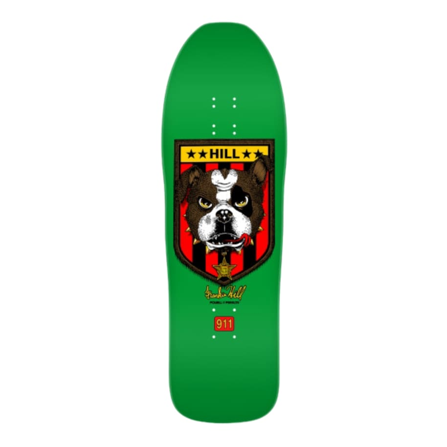 Powell Peralta Frankie Hill Bulldog Re-issue Skateboard Deck - 10"