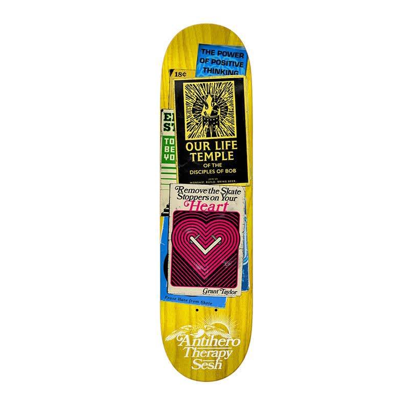 "Anti-Hero Taylor Therapy Sesh 8.38"" Deck | Deck by Antihero Skateboards 1"