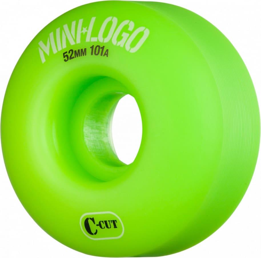 MINI LOGO 52mm C-Cut Wheels Green | Wheels by Mini Logo 1