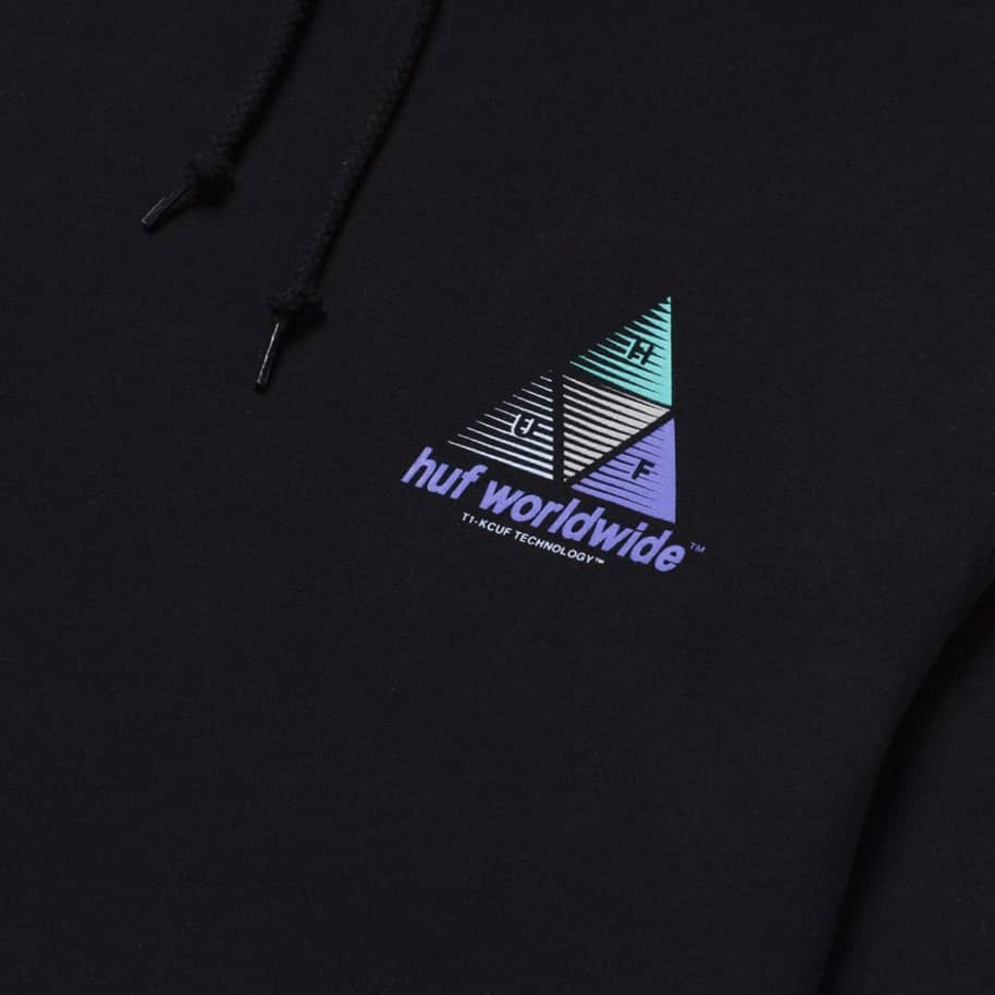 Huf Prism Triple Triangle Pullover Hoodie | Hoodie by HUF 4